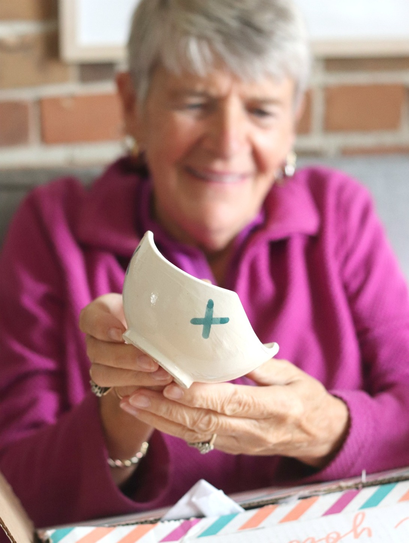 GlobeIn May ceramic topping bowl