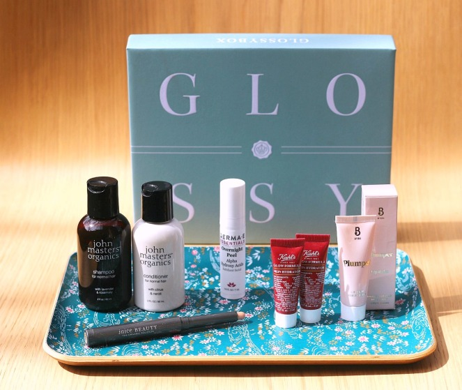 Glossybox April 2019 full contents day bright