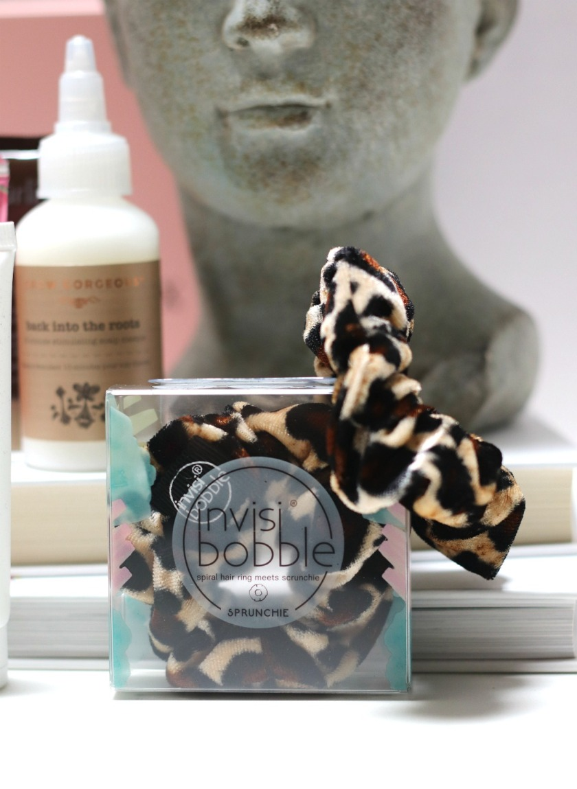 Glossybox May 2019 Invisibobble Sprunchie leopard