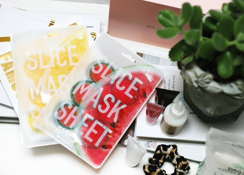 Glossybox May 2019 Kocostar slice sheet masks lemon and watermelon 2
