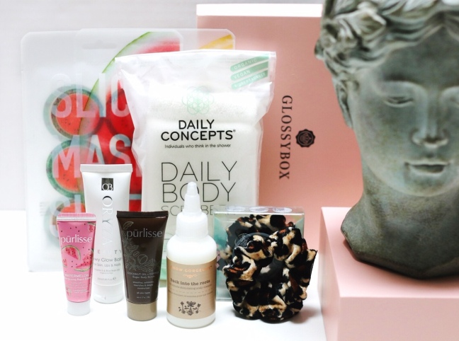 Glossybox May contents bright