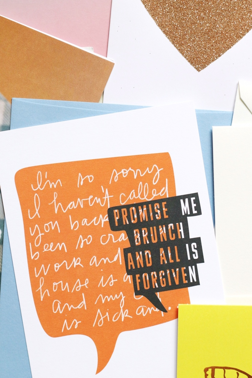 May-L brunch card