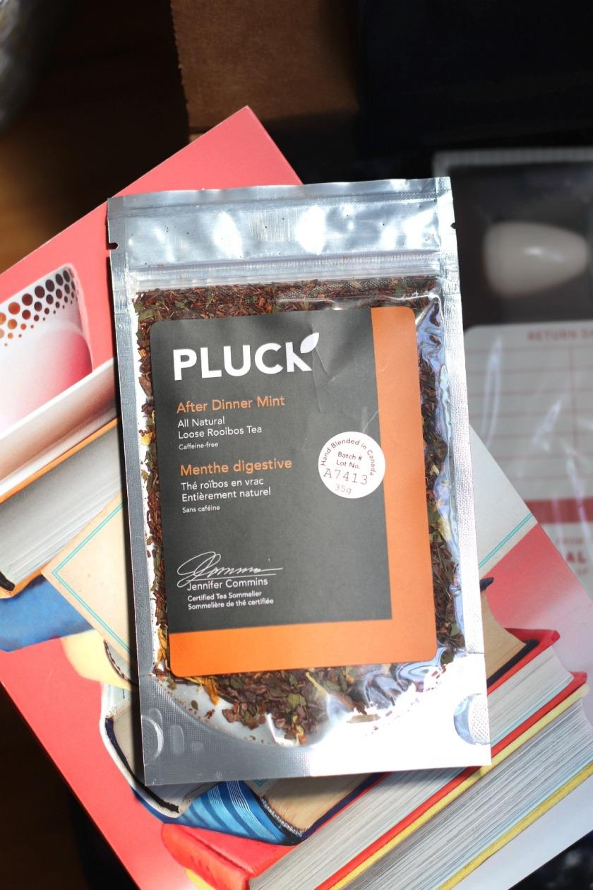 Sweet Reads Box Book Lovers Box Pluck After Dinner Mint tea