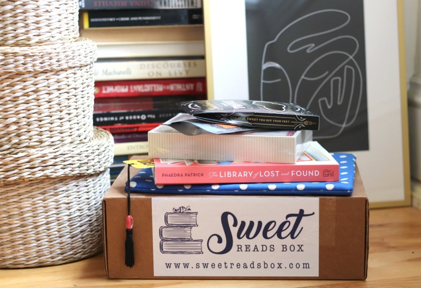 Sweet Reads Box Book Lover's Box unboxed