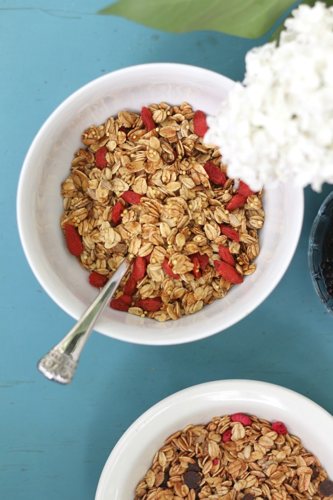 OatBox June 2019 Goji berry and millet granola