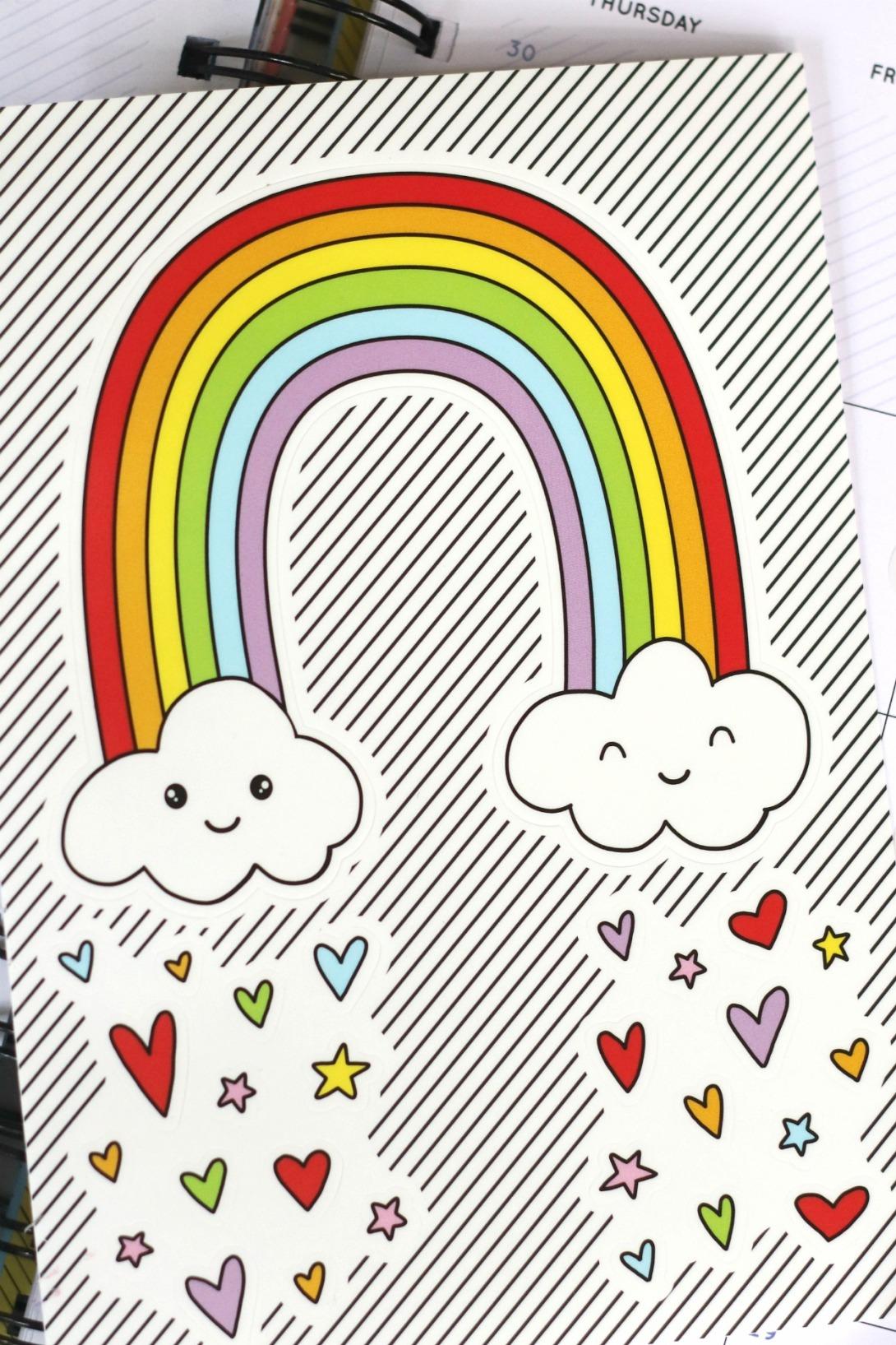 Pipsticks rainbow sticker
