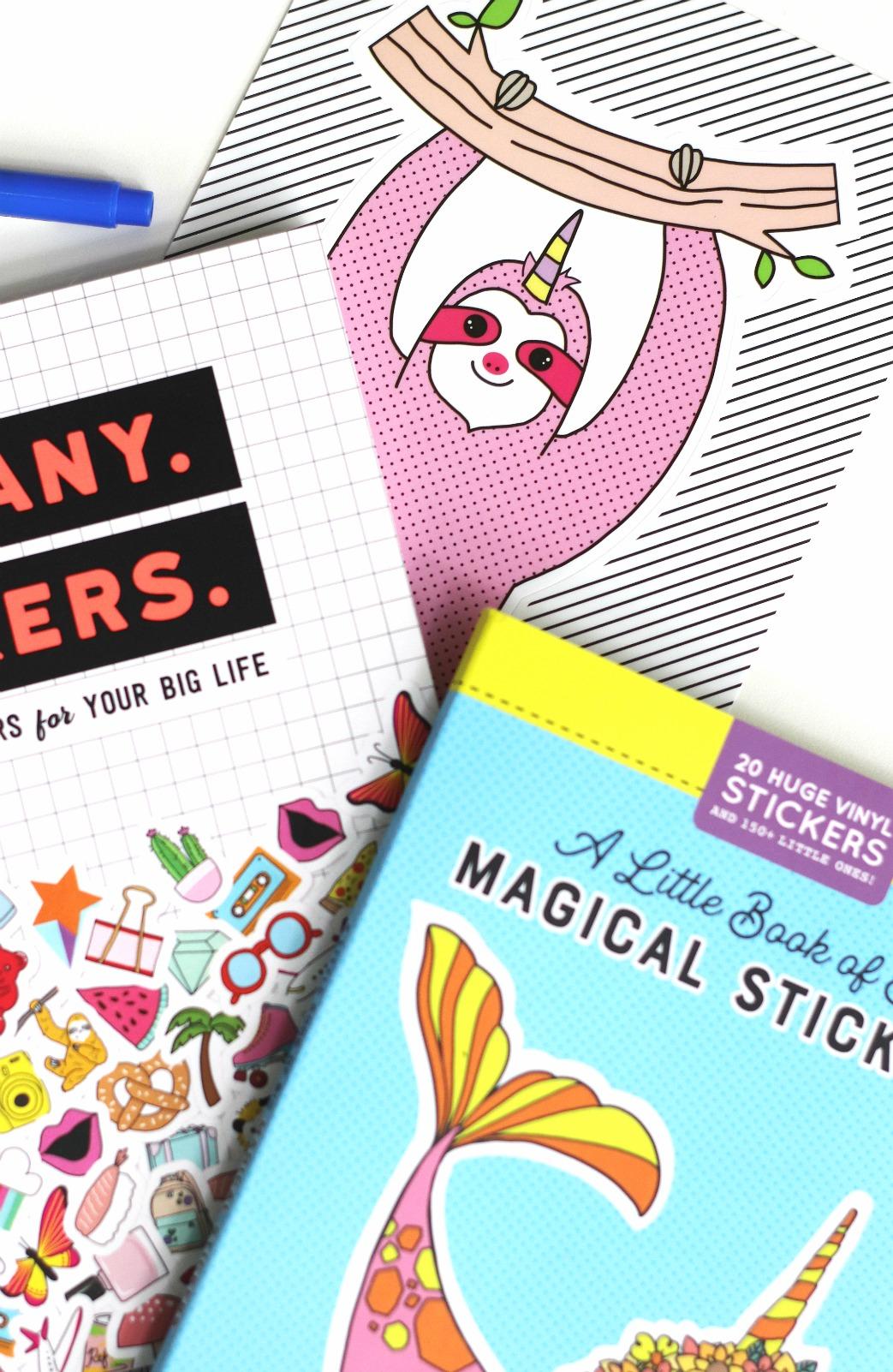 Pipsticks sloth sticker
