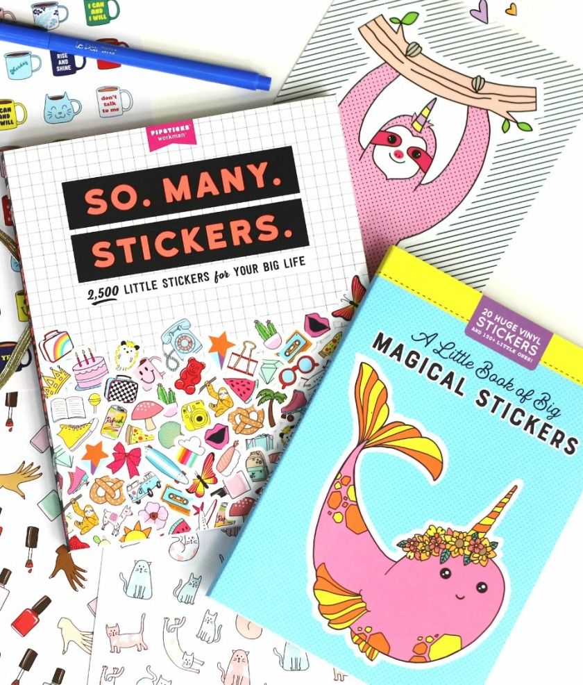 Pipsticks So Many Stickers and A LIttle Book of Big Magical Stickers feature image