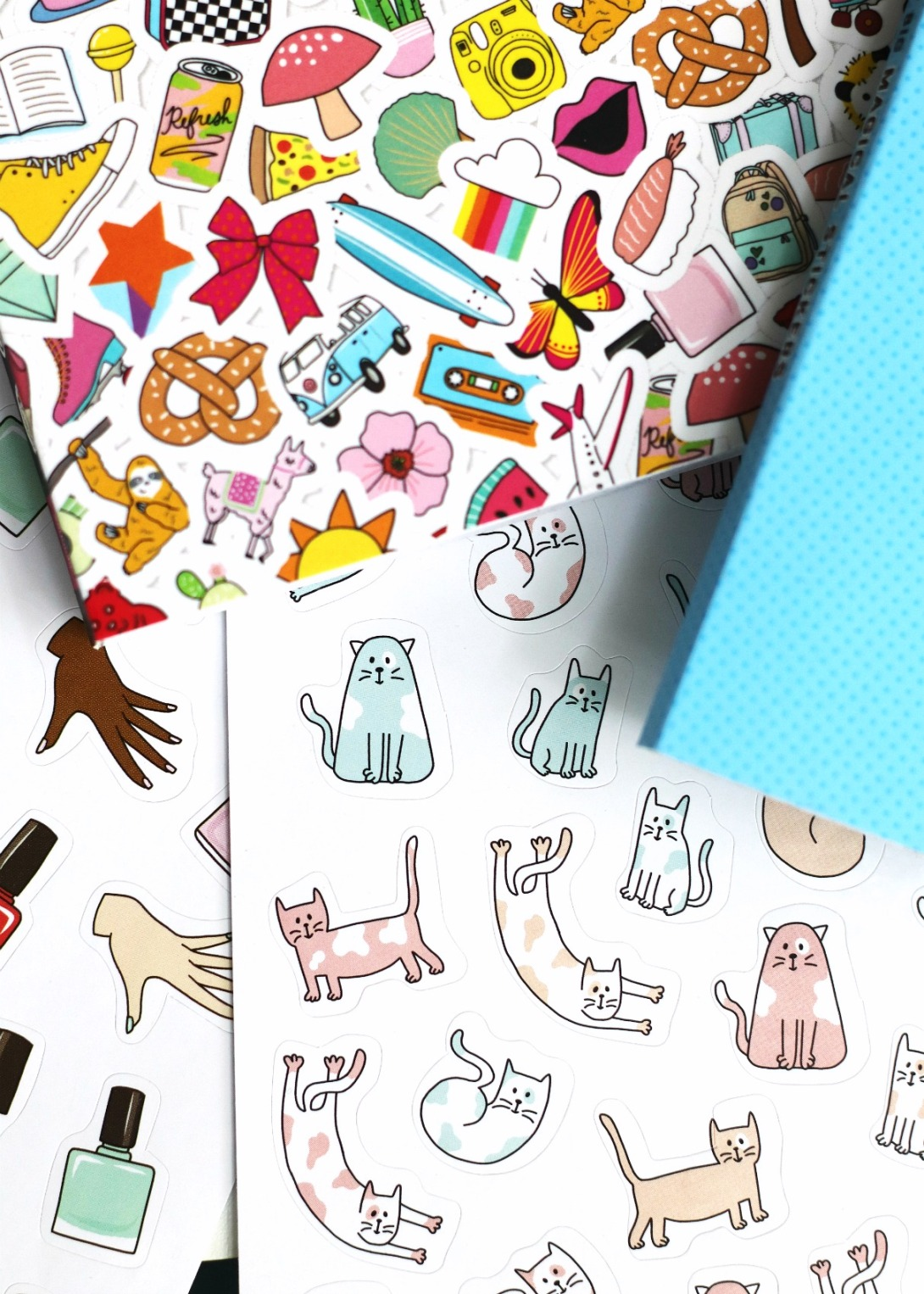 Pipticks So Many Stickers cat stickers 2