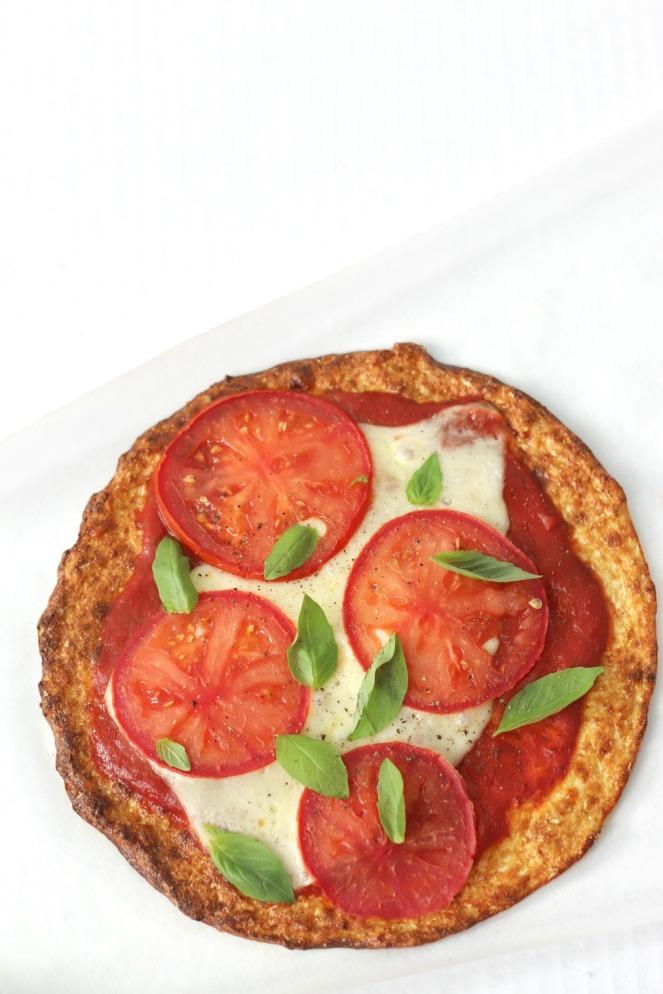 Cali'flour Kitchen Margherita Pizza cauliflour crust try small things