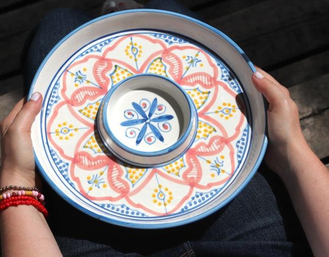 GlobeIn July 2019 Moroccan Mezze Plate 2