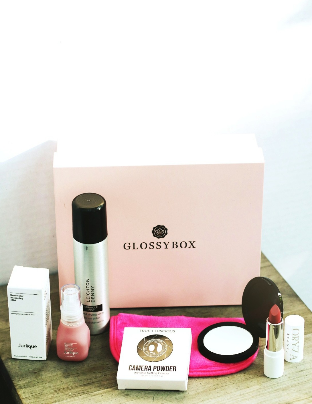 Glossybox July 2019 contents final