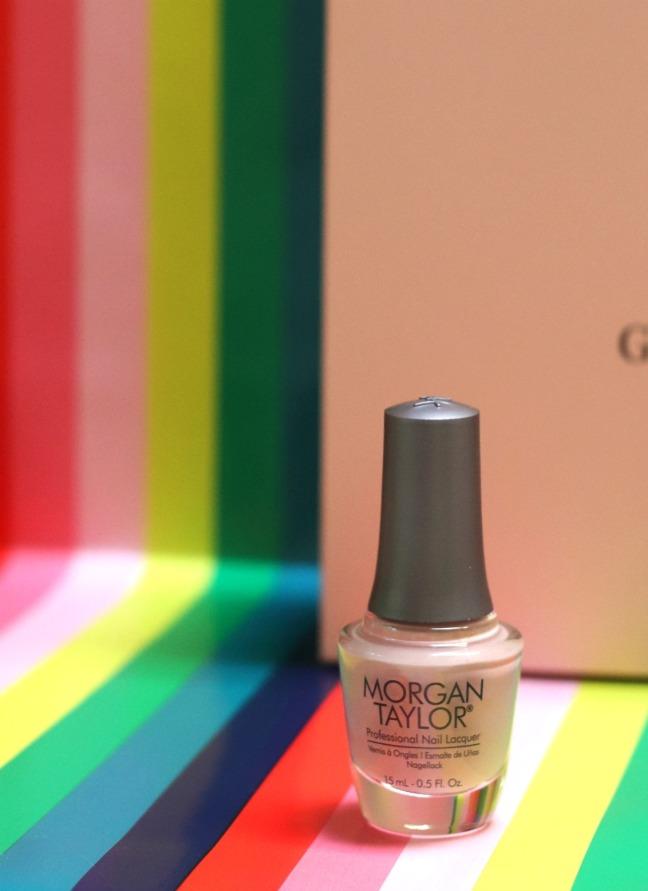 Glossybox June 19 Morgan Taylor nail lacquer