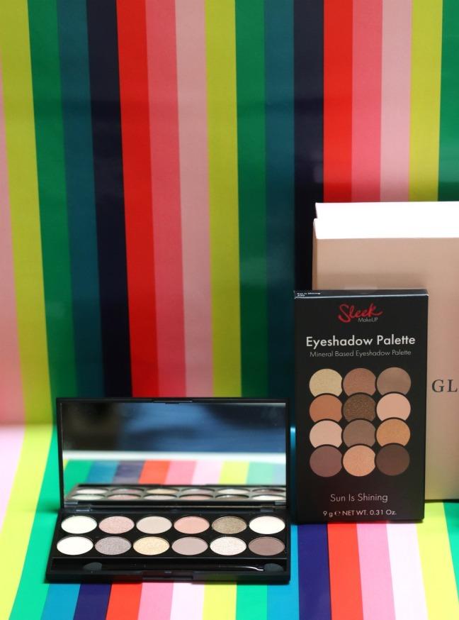 Glossybox June 19 Sleek Makeup Eyeshadow Palette