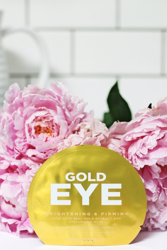 lookfantastic July 2019 Gold Eye eye pads bright