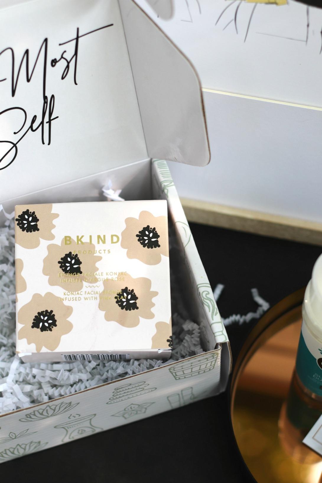 Love Aiki BKIND Konjac Facial Sponge in box