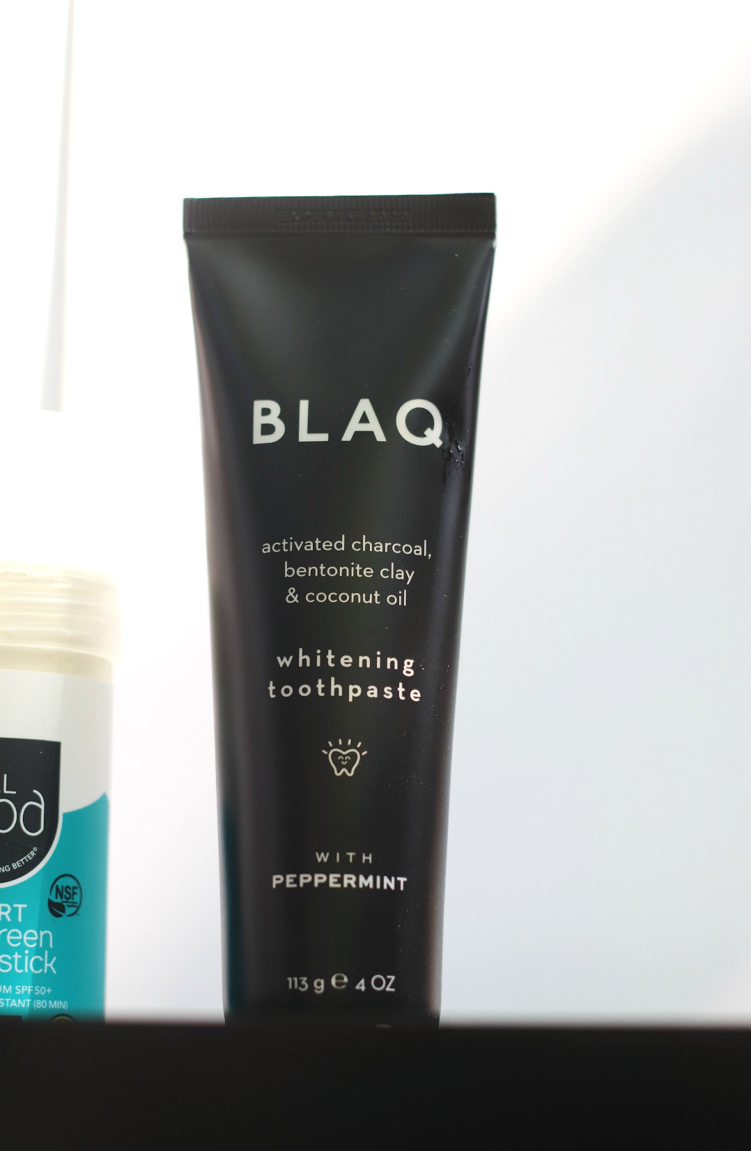 Love Aiki July 2019 BLAQ Whitening Toothpaste in tube