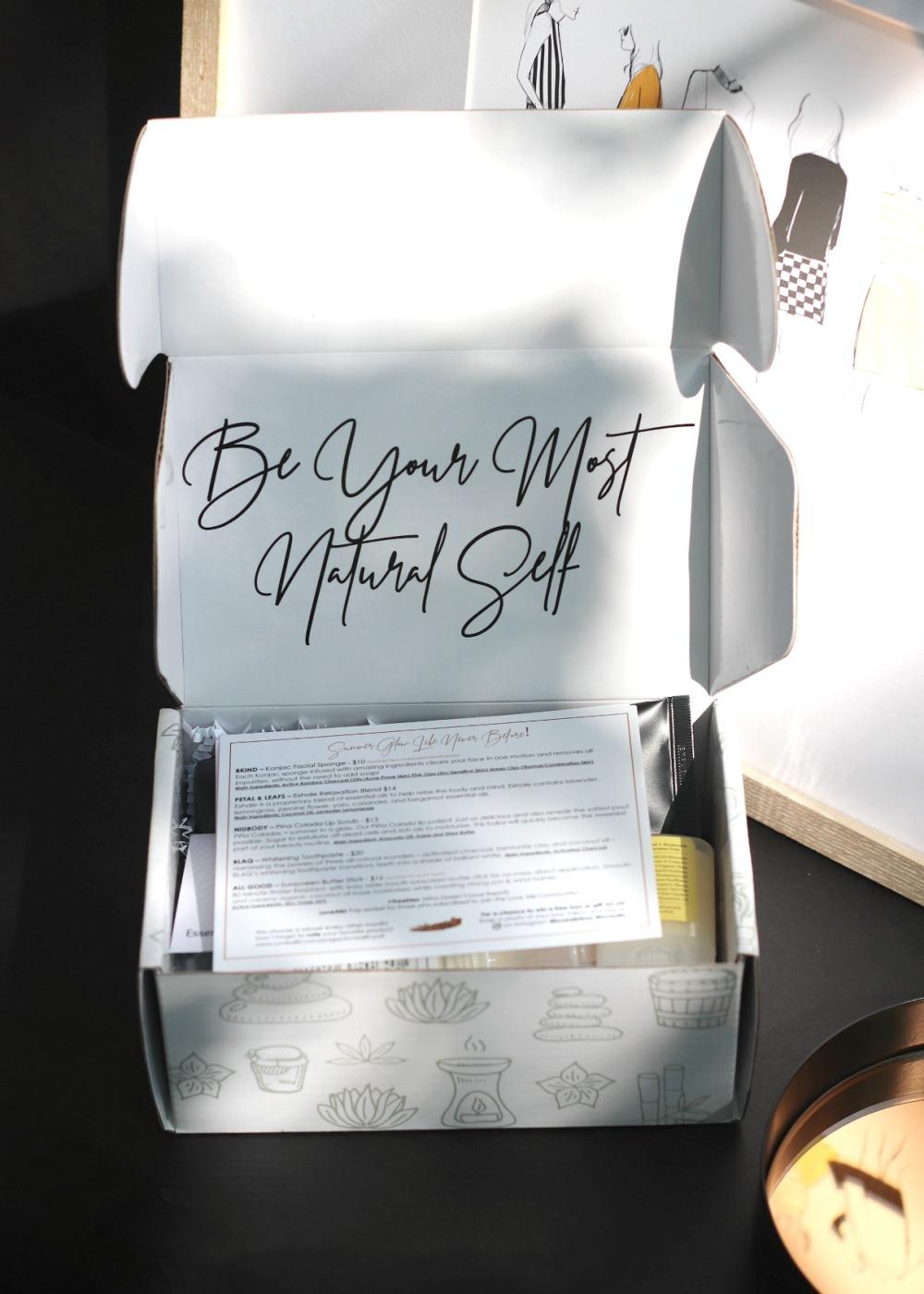 Love Aiki July 2019 inside the box