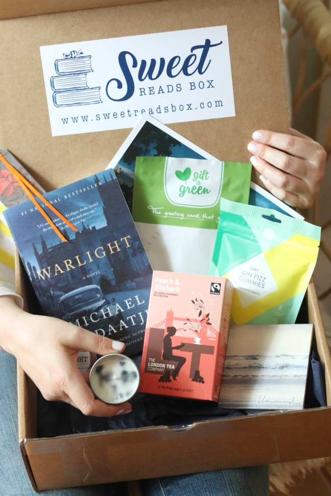 Sweet Reads Box July 2019 full contents