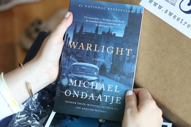 Sweet Reads Box July 2019 Warlight by Michael Ondaatje