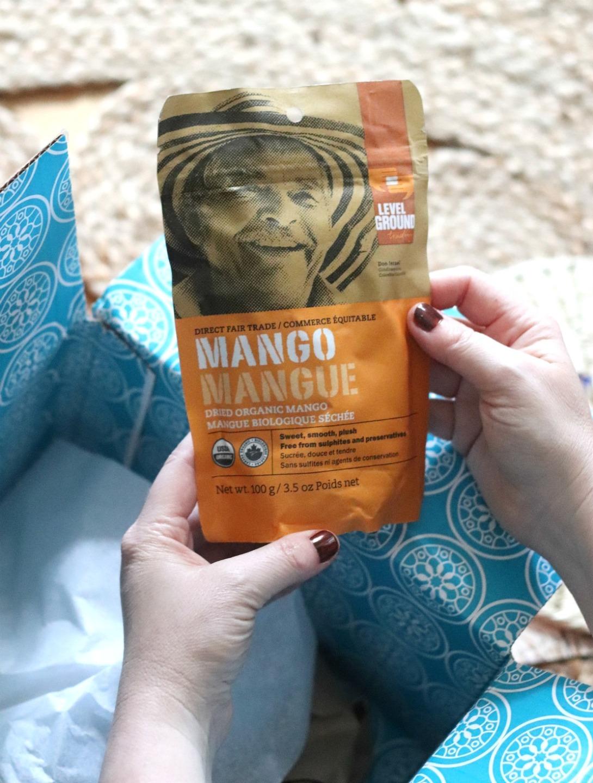 GlobeIn Salud Box Level Ground Dried Organic Mango
