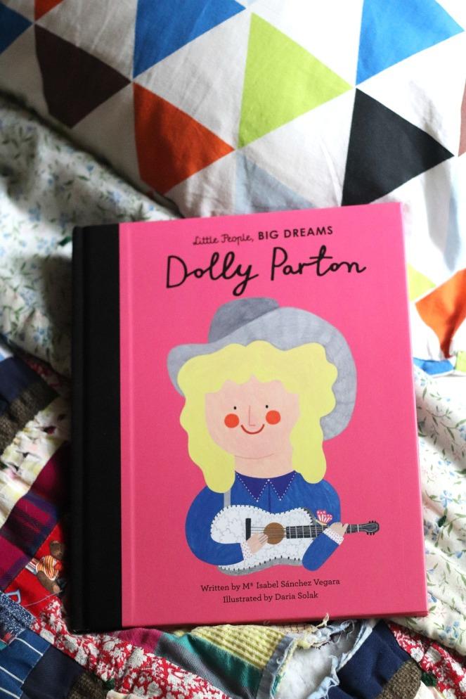 Little People, Big Dreams Dolly Parton cover