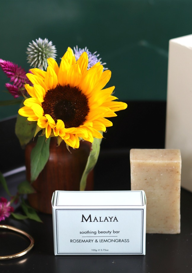 Mapleblume Aug 2019 Malaya Soothing Beauty Bar Rosemary & Lemongrass