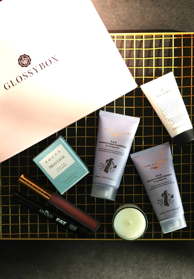 GLOSSYBOX Sept full contents 3