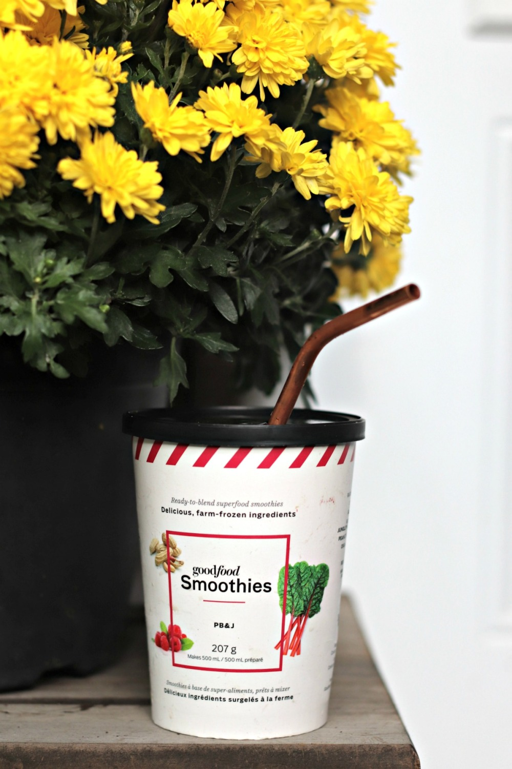 Goodfood Smoothies PB&J and mums