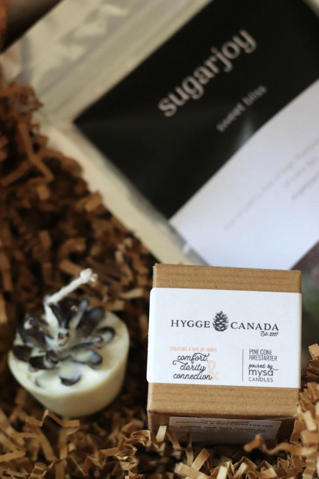 Hygge in a box fire starter box
