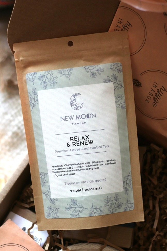 Hygge in a box New Moon relax and renew tea