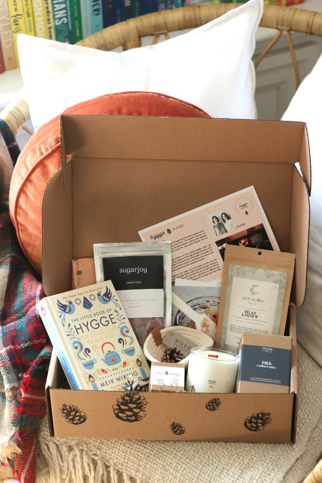 Hygge in a box starter kit full contents