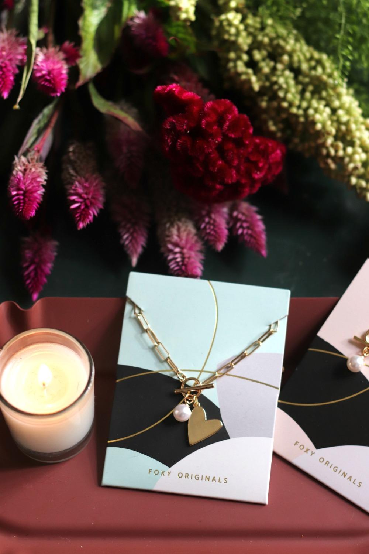 Foxy Rosie necklace