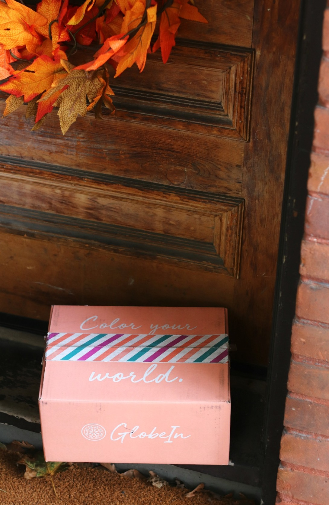 GlobeIn Oct 19 the box