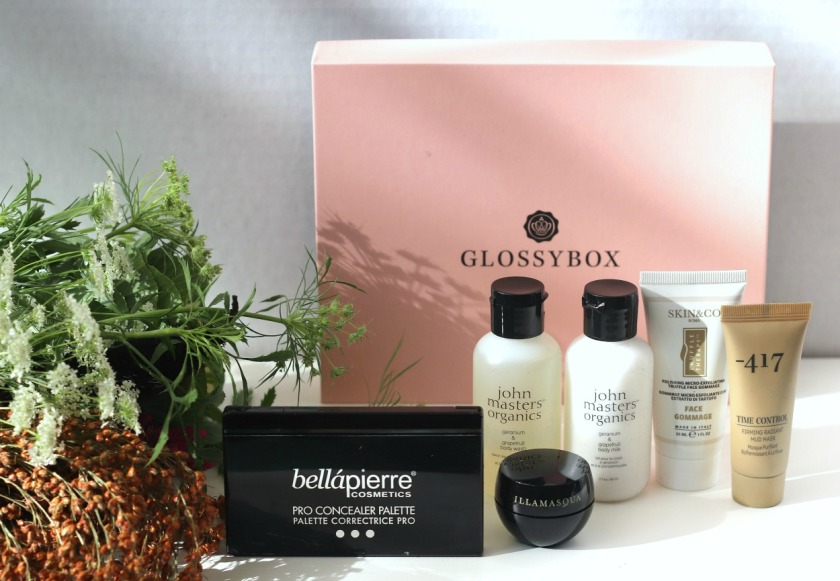 Glossybox October 2019 contents ayob brighter