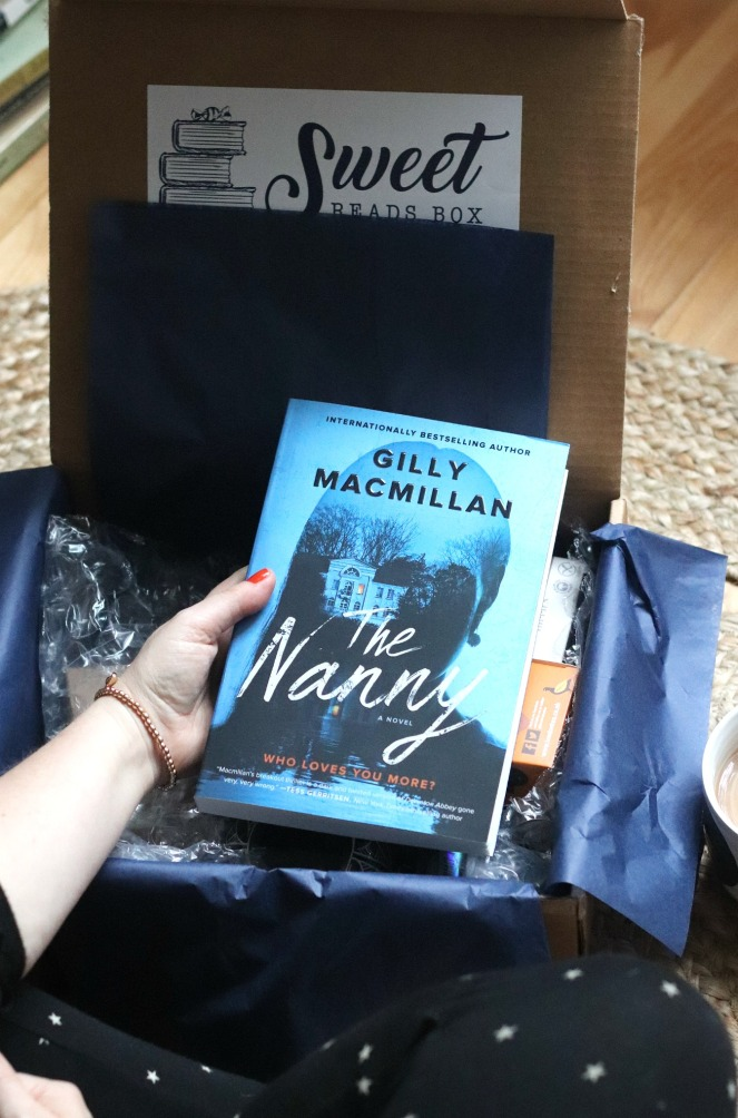 IMG_756Sweet Reads Box October 2019 The Nanny by Gilly Macmillan