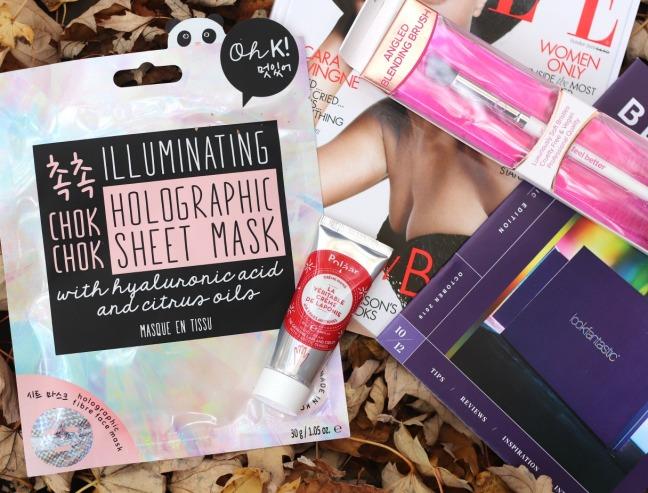 lookfantastic october 2019 Oh K illuminating holographic sheet mask