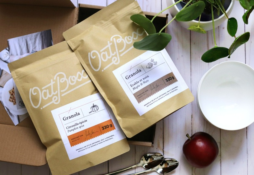 OatBox October 2019 granola blends brighter