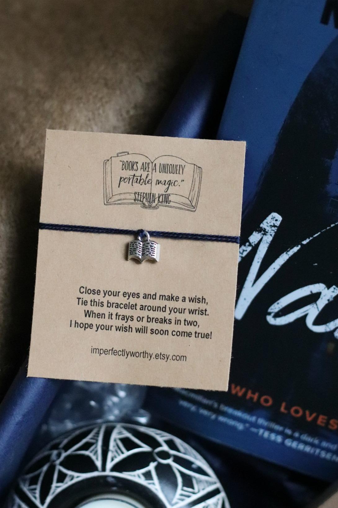 Sweet Reads Box Oct 2019 Imperfectly Worthy Wish Bracelet