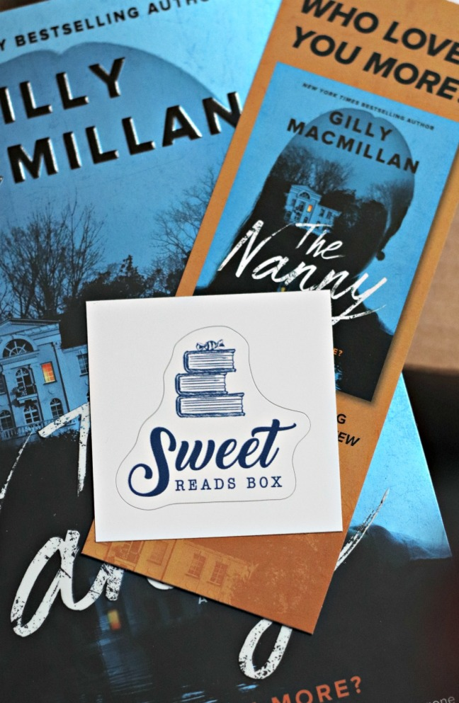Sweet Reads Box Oct 2019 vinyl sticker