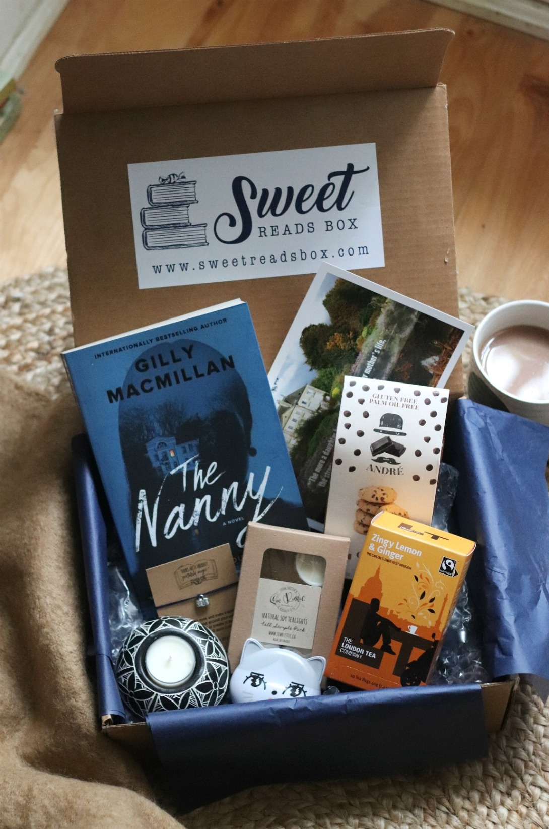 Sweet Reads Box October 2019 full contents