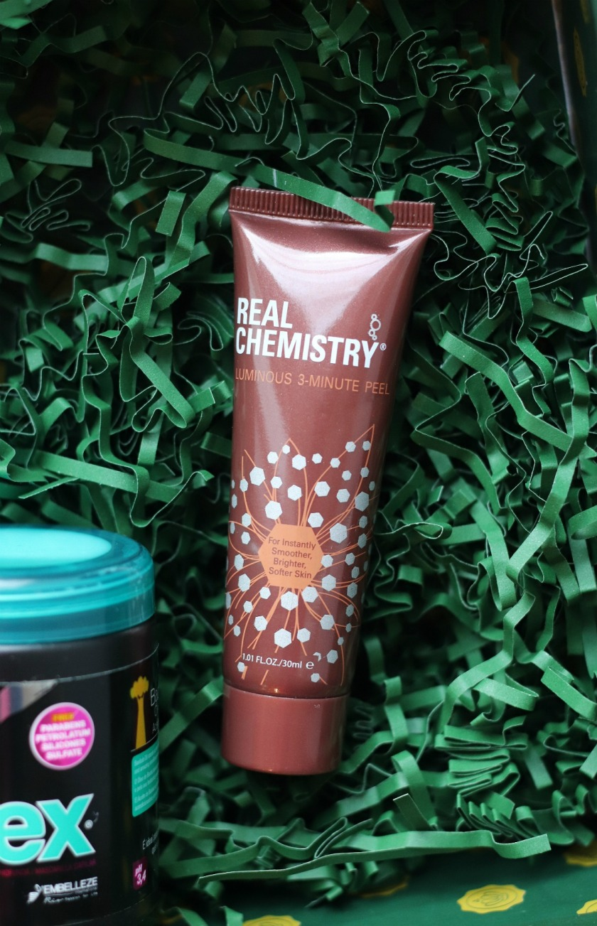 Glossybox November 2019 Real Chemistry Luminous 3-minute peel