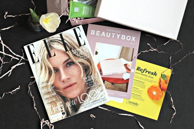 Lookfantastic Nov 2019 inside the box