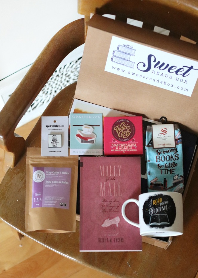 Sweet Reads Box Second Limited Edition Book Lovers Box full contents
