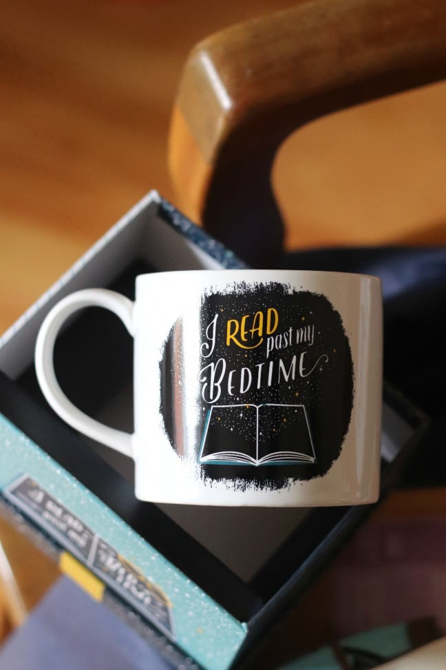Sweet Reads Box Second Limited Edition Book Lovers Box I Read Past My Bedtime Mug