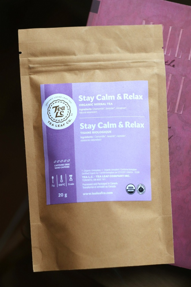 Sweet Reads Box Second Limited Edition Book Lovers Box Stay Calm & Relax Tea Leaf Co Tea