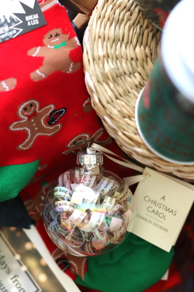 Sweet Reads Box Christmas Box 2019 handmade tree ornament