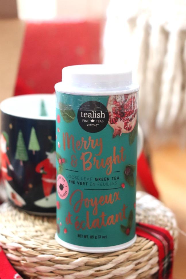 Sweet Reads Box Christmas Box 2019 Tealish Merry & Bright tea