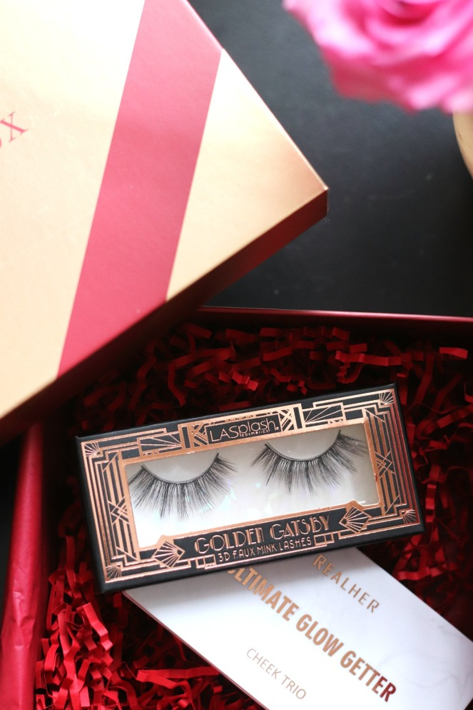 Glossybox December 2019 Golden Gatsby 3D Faux Mink Lashes