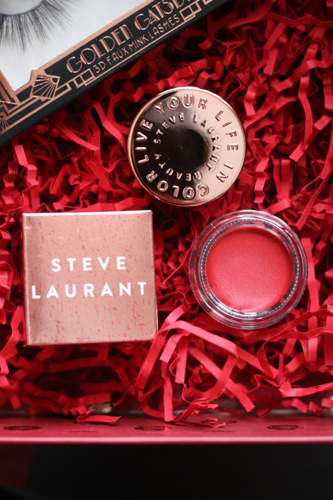 Glossybox December 2019 Steve Laurant cherry lip gloss